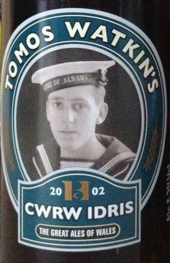Idris Parry who loans his name and picture to our favourite ale.
