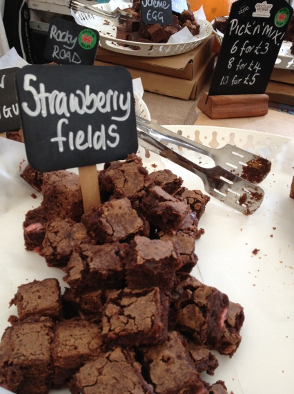 The Chocolate Brownie Company had a large array of delicious flavours on offer (Photo attributed to Jordan Harris)