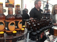 Tudor Brewery were lovely enough to give us a pale ale on the house! (Photo attributed to Jordan Harris)