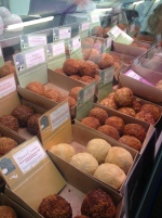 The Handmade Scotch Eggs Co. had a huge variety of flavours on sale including the popular 'Old Fart.' (Photo attributed to Jordan Harris)