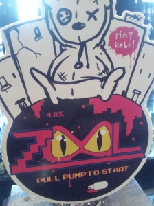 Yep, the guys at Tiny Rebel loved the 80s.