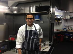Kuldeep in his kitchen (pic courtesy of Jordan Harris)