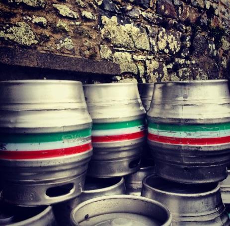 Farmhouse kegs (Photo attributed to Jordan Harris)