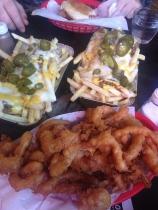 IPA straws and chilli cheese fries (Photo attributed to Jordan Harris)