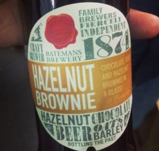 Another from Danny. This time Hazlenut Brownie beer from Batemans. Apparently he's a handsome fella... the beer not Danny, although he's not bad on the eyes either!