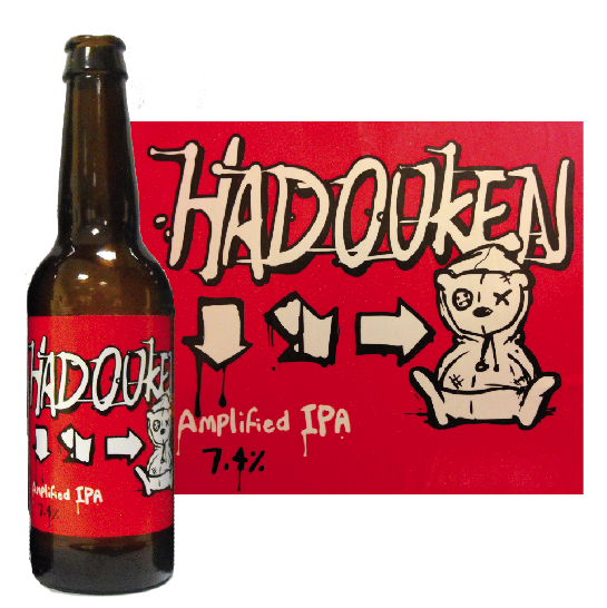 Tiny Rebel's Hadouken pays homage to Street Fighter (Pic attributed to Jordan Harris)
