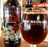 La Folie from New Belgium Brewing sent in by @compton8734 via instagram.