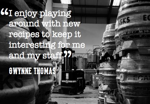 Conwy Brewery Gwynne Thomas