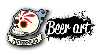 Pistonhead beer art