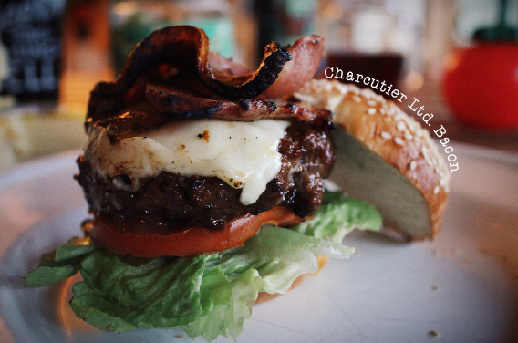 Charcutier Lld Bacon cheeseburger