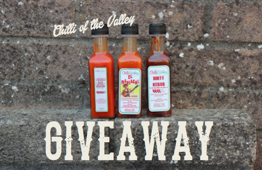 Chilli of the Valley giveaway