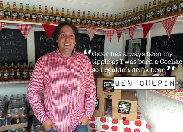 Ben Culpin Apple County Cider Co.