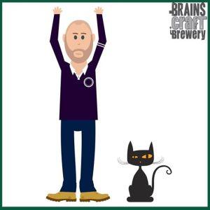 Danny and his feline friend, Thomas.