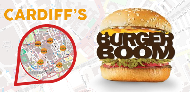 A feature for It's On Cardiff about the burger boom that has seen an influx of burger joints to the city.