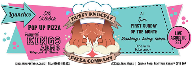I interviewed the owners of Cardiff's pizza pop-up Dusty Knuckle ahead of their launch for It's On Cardiff.